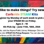 Algona Library Curbside STEAM Kits
