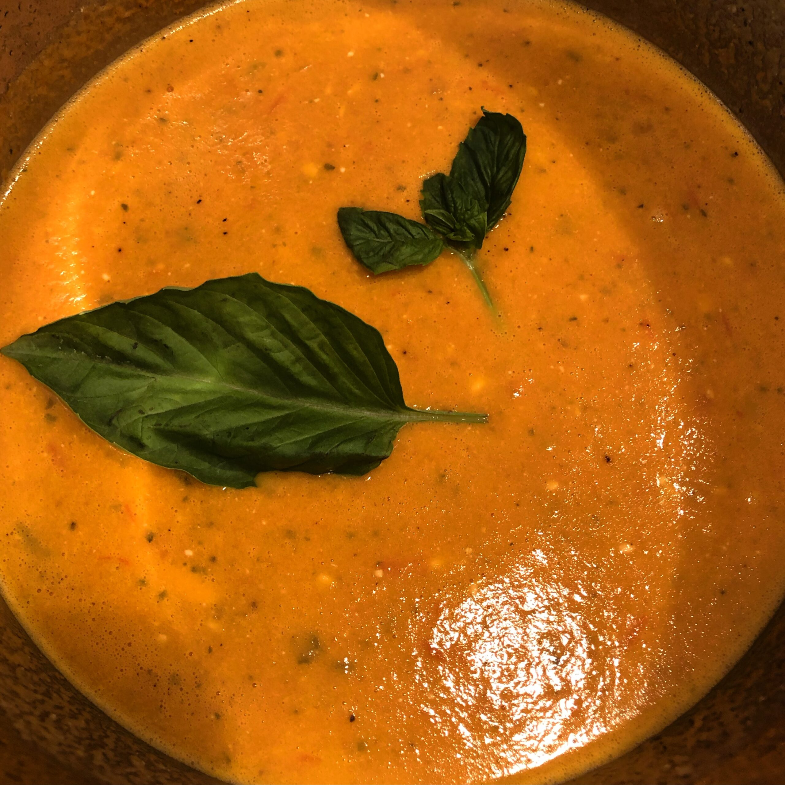 Tomato Feta Soup at Blue Dog Farm