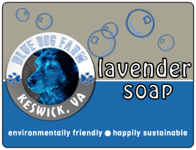 Lavender Soap from Blue Dog Farm in Virginia
