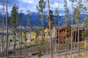 Fall Colorado Cabin