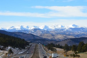 I-70 up to the mtns