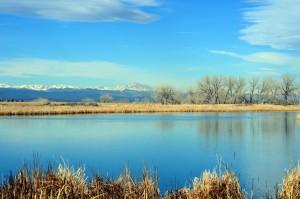 Mtns and lake