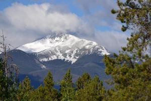 Colorado Fall Mountain