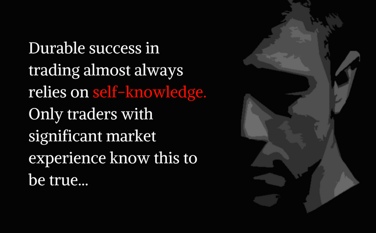 Durable success in trading comes from self-knowledge