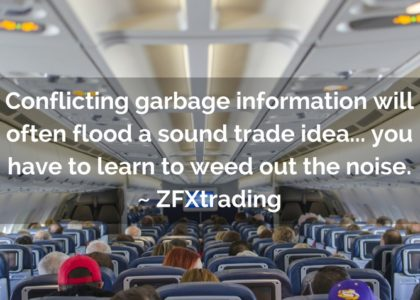 Quick Lesson For Trend Traders ** Hint: Don't Get Off The Plane!