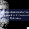 Stoicism Series 3-5: 30 Quotes By Epictetus For Traders