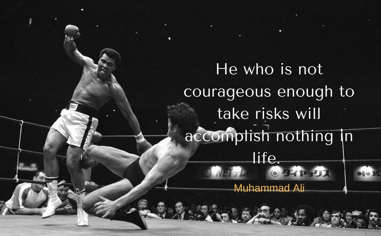 Trader's mindset Muhammad Ali