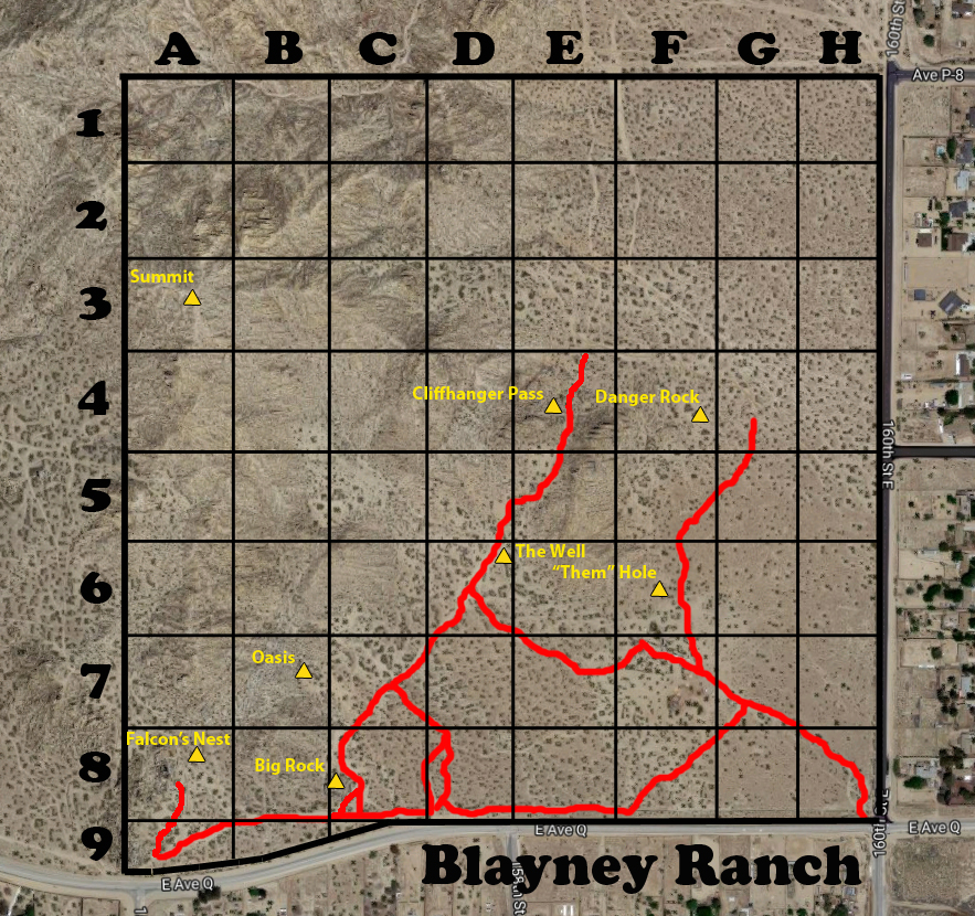 Ranch Grid Map