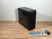 Black Window Custom Built Desktop Computer