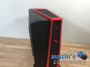 Black & Red Window Custom Built Desktop Computer 2