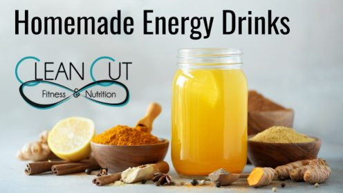 Homemade Energy Drinks