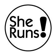 She Runs! black