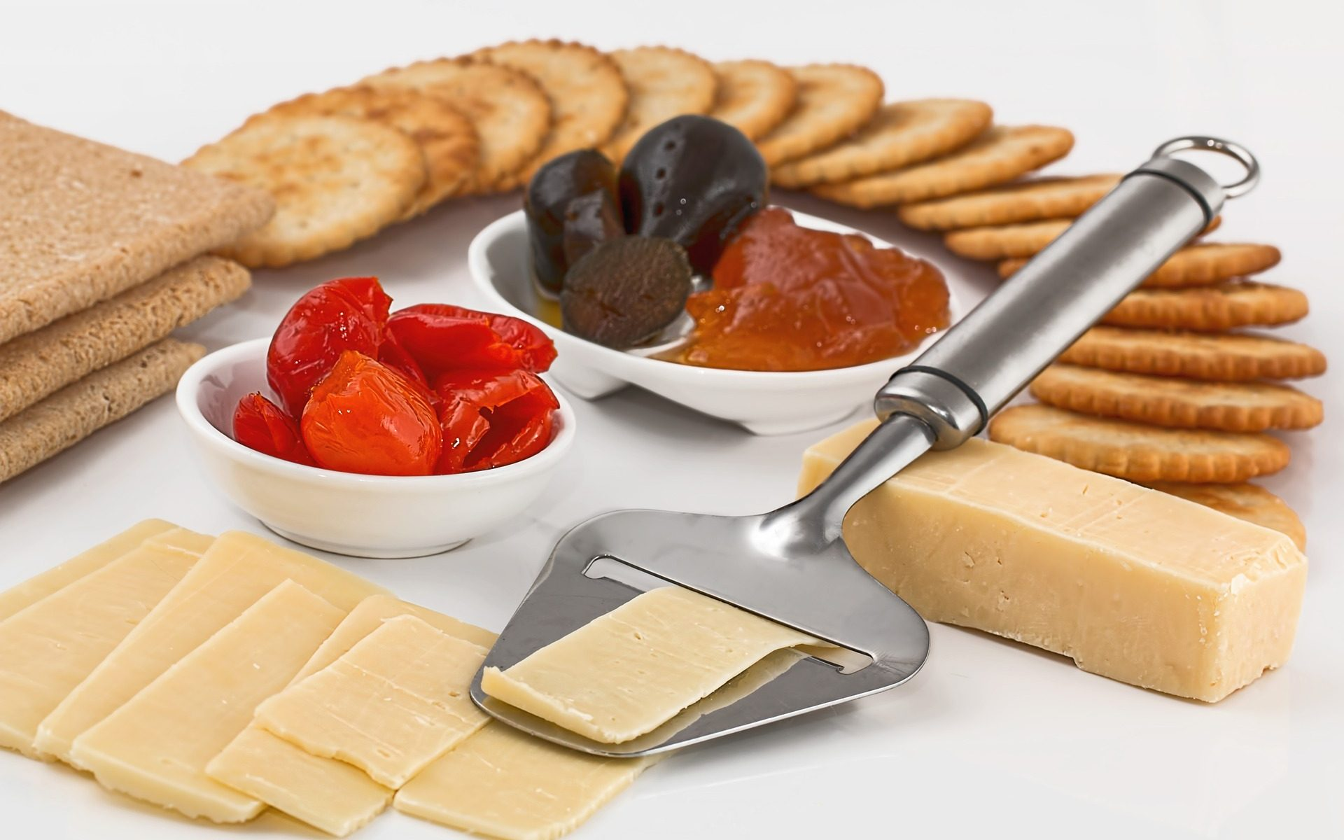 Delicious looking cheese spread