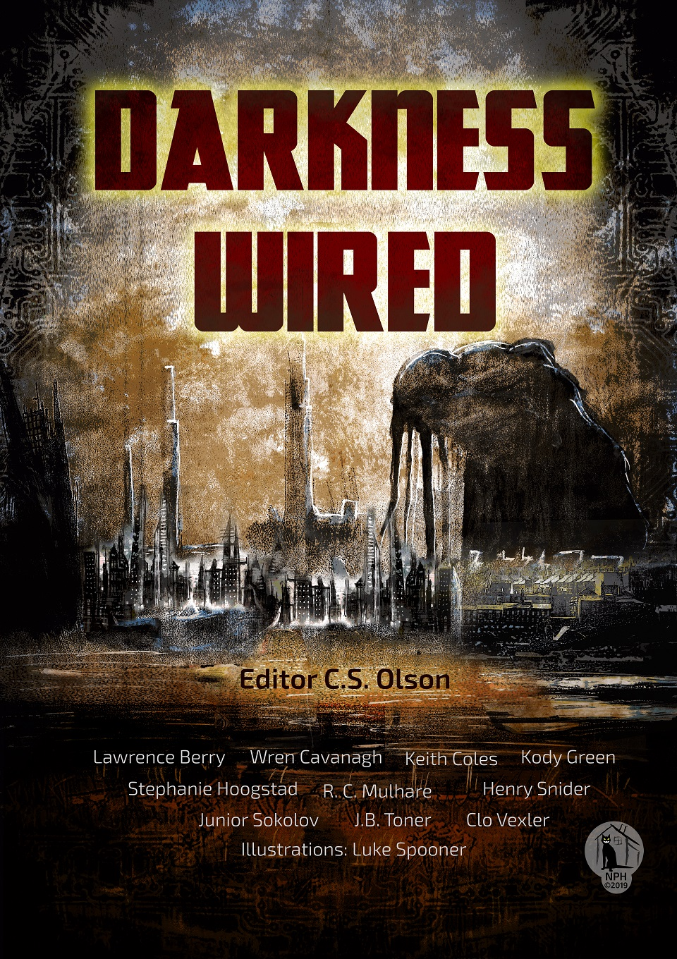 Cover for the Darkness Wired anthology