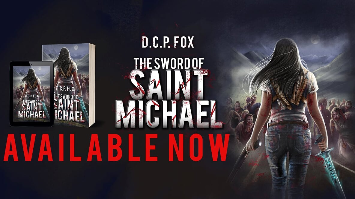 Image D.C.P. Fox Sword of St. Michael promotional material