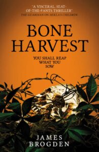 Cover for book Bone Harvest