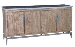 69″ Cromwell Sideboard with Bluestone Top