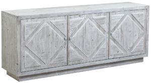 Mallow Whitewash Wood Sideboard