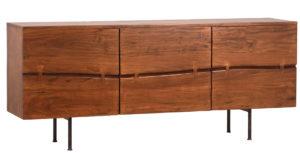 Modern Brody 3 Door Wood Sideboard