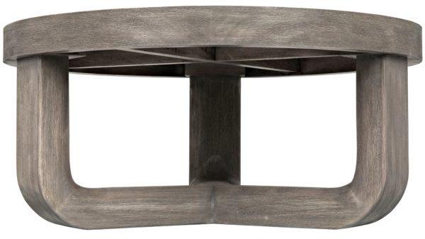 grey wood coffee table