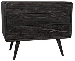 Bart Small Black Dresser