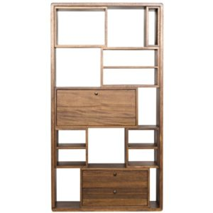 Norman Walnut Bookcase