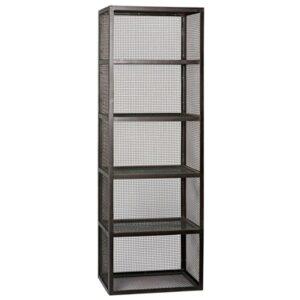 Perpendicular Mesh Bookcase