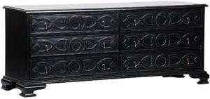 Sofie 6 Drawer Dresser