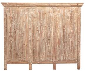 Bolton White Wash Wood Headboard