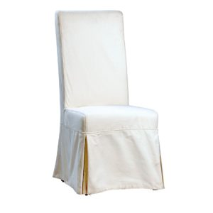 Bella White Slipcover Dining Chair (Set of 2)