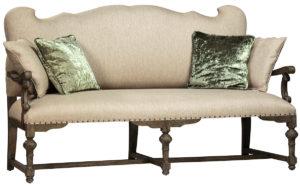 Bollene Art Nouveau Style Settee