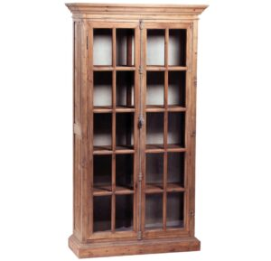 Barnsley Tall Cabinet with Glass Doors