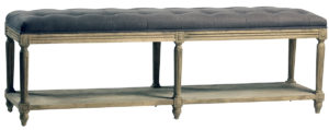 Upholstered Wood Bench