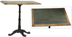 William Metal Top Bistro Table