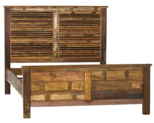 Rustic Reclaimed Wood Complete Bed