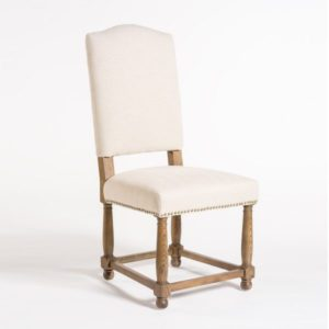 Nantucket Dining Chair in Cement Herringbone (Set of 2)