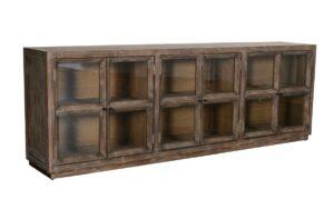 Selma Reclaimed Wood 6Dr Sideboard