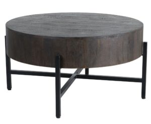 Toronto Espresso Round Coffee Table