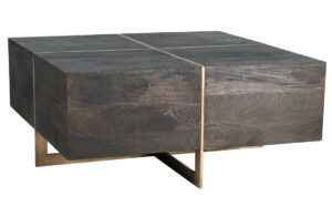 Desmond Espresso Square Coffee Table