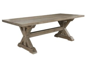 Mills Vintage Taupe Dining Table