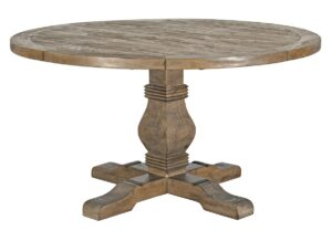 Caleb Reclaimed Wood Round Dining Table
