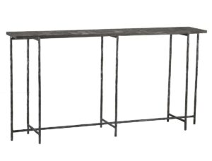 Echo Stone and Iron Console Table
