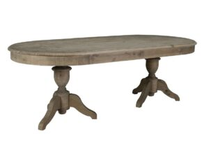 Hartland Reclaimed Wood Oval Dining Table