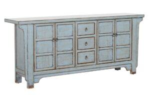 Crafton Distressed Wood Sideboard