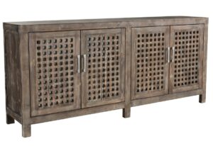 Prado Reclaimed Wood Lattice Sideboard