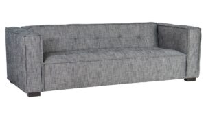 Element Gray Tufted Sofa