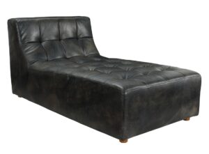 Dylan Leather Tufted Lounge Chair