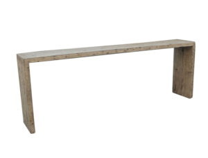 Natural Reclaimed Wood Console Table
