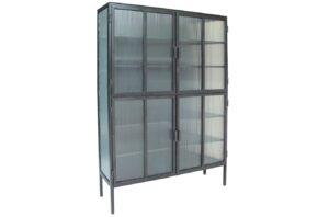 Verani Tall Glass Cabinet