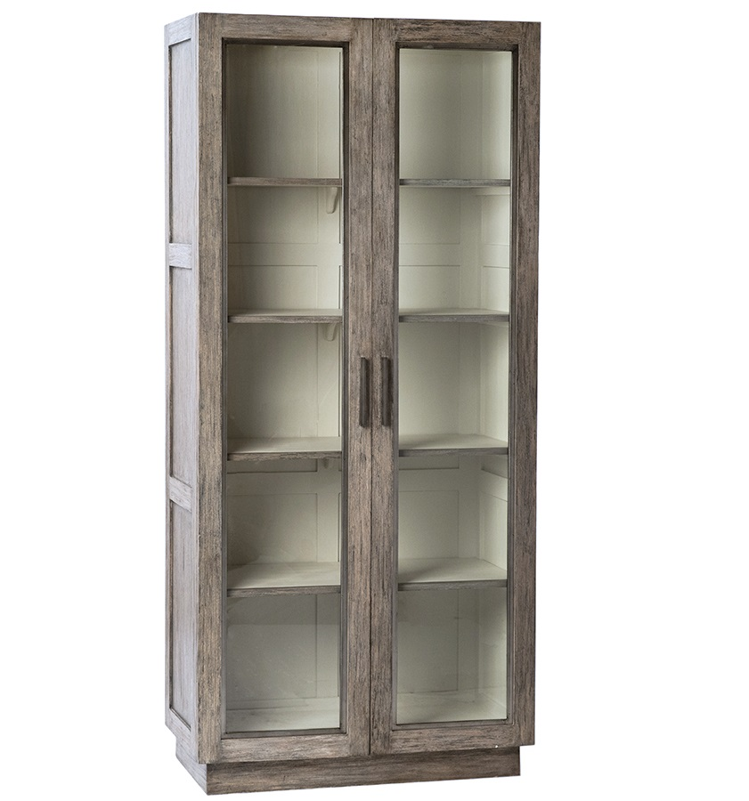 Osmo Wood Glass Cabinet
